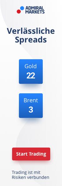 Anzeige - Admiral Markets Gold Brent Rohstoffe