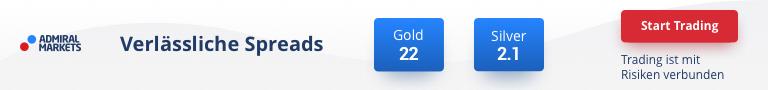Anzeige - Admiral Markets Gold Silber